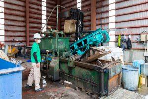 マチイロ撮影 リベラル資源リサイクル工場 写真